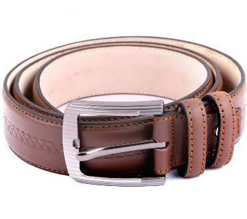 Gents formal leather belt
