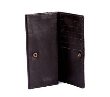 Smart leather mobile cover cum wallet