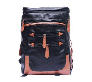 Artificial leather backpack- A004