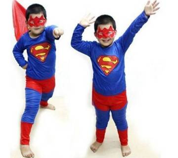 Super Man Dress Set