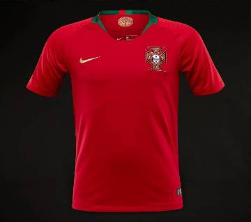 2018 World Cup Portugal Half Sleeve Home Jersey (Copy)