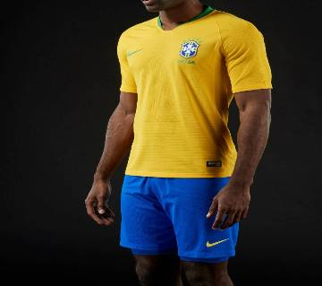 2018 WC Brazil Home KIT Exclusive European quality (Copy)