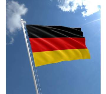 Germany Flag 2.5 Feet with Hand Stitch