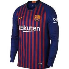 Barcelona Home লং স্লিভ রেগুলার জার্সি 2018-19