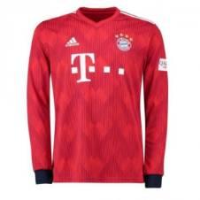 Bayern Munich Home লং স্লিভ রেগুলার জার্সি 2018-19