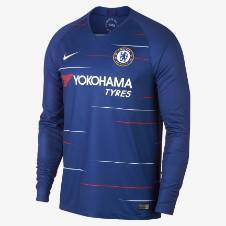 Chelsea Home লং স্লিভ রেগুলার জার্সি 2018-19