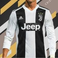 Juventus Home লং স্লিভ রেগুলার জার্সি 2018-19