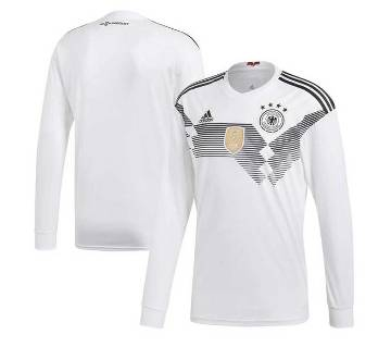 Germany 2018 World Cup Long Sleeve Home Jersey