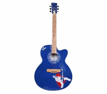 Symphony VENUS Acoustic Guitar-Blue