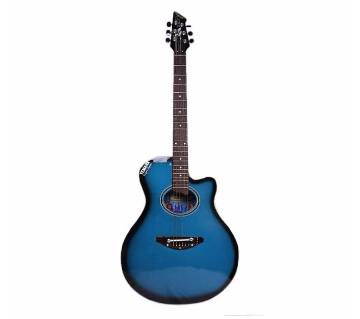 YEMAHA CM2 Acoustic Guitar  Blue