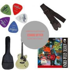 Givson Venus Super Semi Electric Acoustic Guitar natural