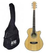 Combo Offer AXE একুয়েস্টিক গিটার Original AG 48C-natural. + স্ট্র্যাপ+ স্ট্রিং সেট+ পিক কম্বো অফার বাংলাদেশ - 8257092