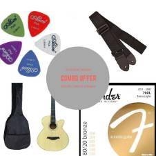TGM Acoustic Guitar - natural