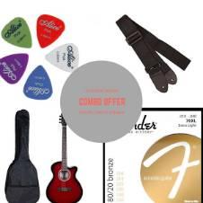 TGM Acoustic Guitar - marron