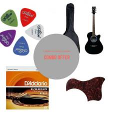 yamaha indonesia 4010 Acoustic Guitar - Black