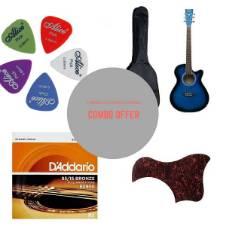 yamaha indonesia 4010 Acoustic Guitar - Blue