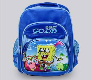 Sponge Bob ওয়াটার প্রুফ স্কুল ব্যাগ
