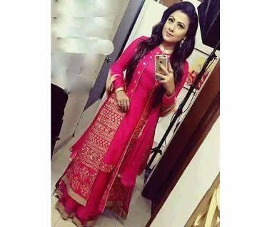 Indian Anarkali Semistitched Georgette Three pc - Copy