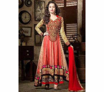Anarkali Indian Semi-Stitched Georgette Three pcs