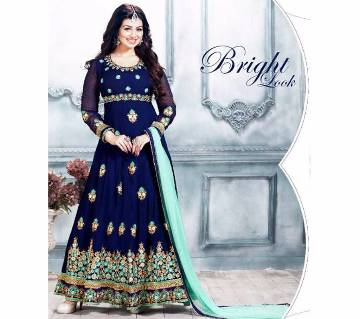 Indian Anarkali Semistitched Georgette Three pc - Copy