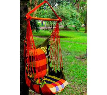 Hand Made Cradle with Cushion