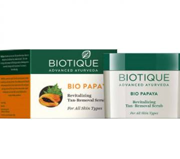 Biotique Papaya Scrub 75gm - India