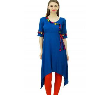 Readymade Cotton Stitched Kurti & Leggings