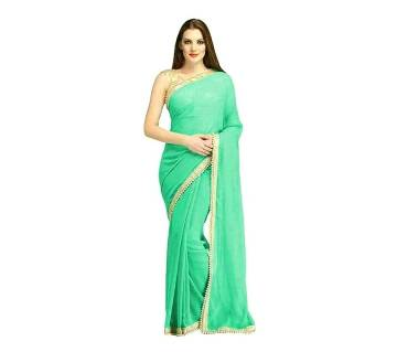 Weightless Georgette Saree with Blouse Piece
