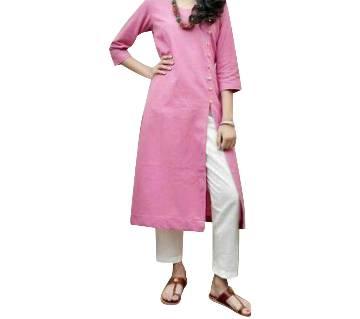 Ladies stitched long kurti