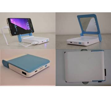 7000mah Power bank With Mirror & Torch