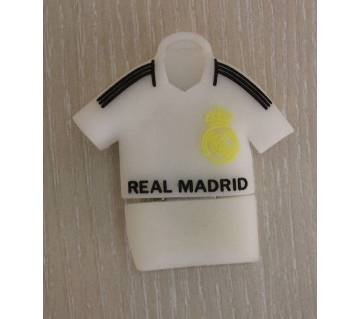 Real Madrid jersey shaped pen drive- 8 GB