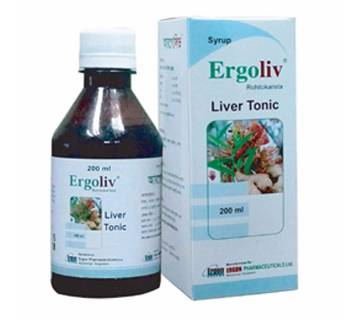 Ergoliv syrup-200ml