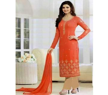 UN-STITCHED GEORGETTE WITH EMBROIDERY SALWAR KAMEEZ (COPY)
