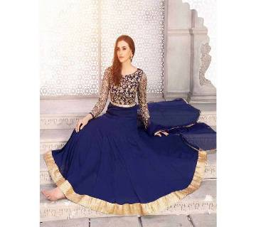 Unstitched replica georgette suit