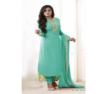 Unstitched Georgette Skin Printed Salwar Kameez