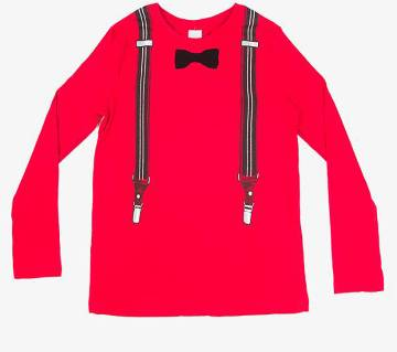 Boys Long-sleeve Cotton T-shirt