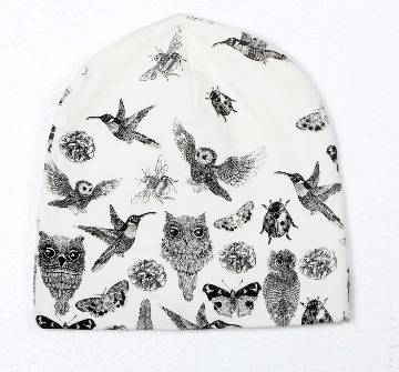 Printed Girls Winter Cap
