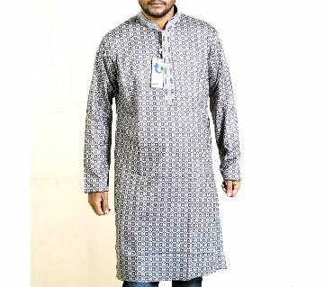 মেনজ সেমি লং কটন পাঞ্জাবি