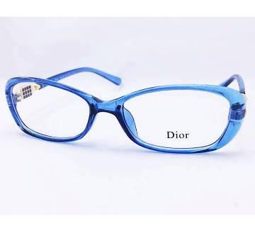 Dior লেডিজ স্টোন সেটিং গ্লাস ফ্রেম-কপি