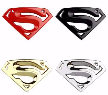Superman 3D কার স্টিকার (১ টি)