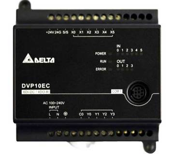 Delta PLC DVP10EC00R3 EC3 series standard PLC