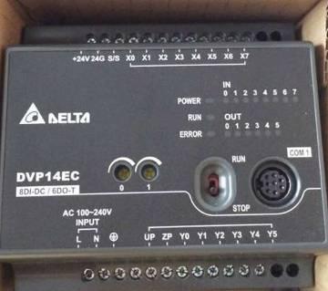 Delta PLC DVP16EC00T3 - EC3 series standard PLC