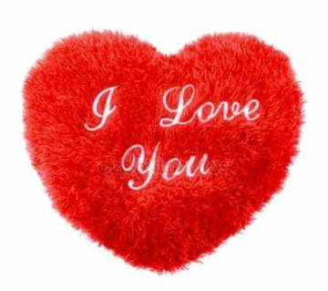 Valentine Heart Shape Pillow with i love you Music