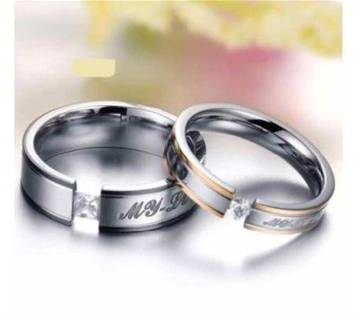 Exclusive design couple finger ring