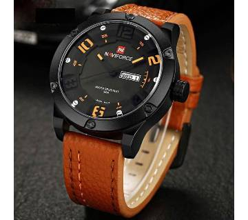 Naviforce analogue dial casual gents wrist watch- copy