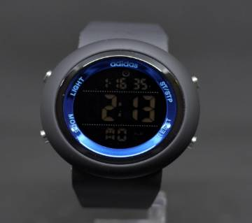 Adidas Mens Sports Wrist Watch-copy-Black and blue