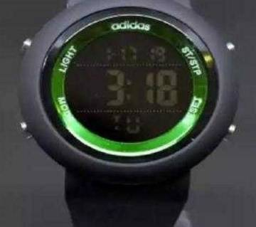 Adidas Mens Sports Wrist Watch-Copy -Black and Green