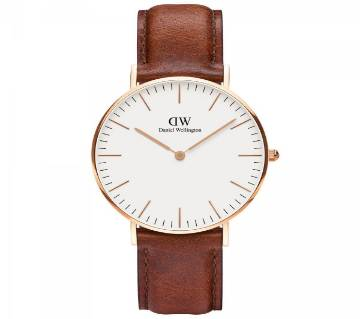 DW Analog Wrist Fashion Watch For Men-Copy