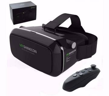 VR SHINECON 3D গ্লাস + ব্লুটুথ রিমোট