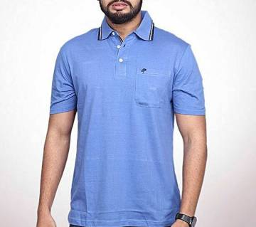 Greenland Fine Solid Color Polo T-Shirt